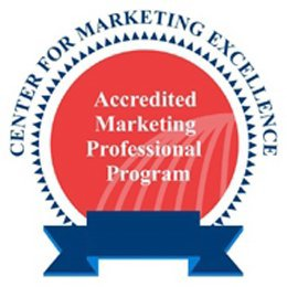 mark for CENTER FOR MARKETING EXCELLENCE ACCREDITED MARKETING PROFESSIONAL PROGRAM, trademark #78727213