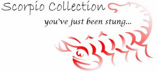 mark for SCORPIO COLLECTION YOU'VE JUST BEEN STUNG..., trademark #78727443