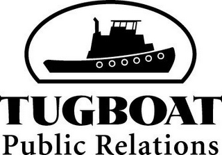mark for TUGBOAT PUBLIC RELATIONS, trademark #78728490