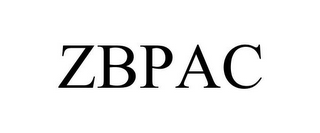 mark for ZBPAC, trademark #78729892