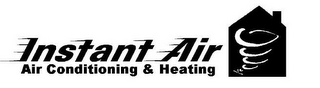 mark for INSTANT AIR AIR CONDITIONING & HEATING, trademark #78730722