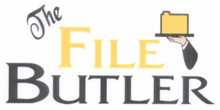 mark for THE FILE BUTLER, trademark #78730985