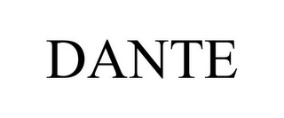 mark for DANTE, trademark #78731161