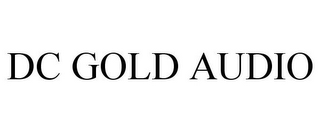mark for DC GOLD AUDIO, trademark #78731218