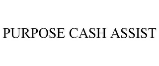mark for PURPOSE CASH ASSIST, trademark #78732981