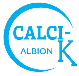 mark for C CALCI- K ALBION, trademark #78734486