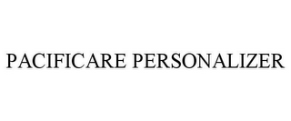 mark for PACIFICARE PERSONALIZER, trademark #78734708
