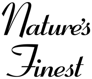 mark for NATURE'S FINEST, trademark #78735393
