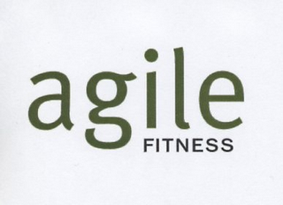 mark for AGILE FITNESS, trademark #78735560