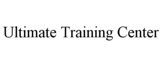 mark for ULTIMATE TRAINING CENTER, trademark #78735714
