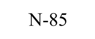 mark for N-85, trademark #78736113