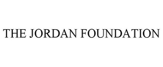 mark for THE JORDAN FOUNDATION, trademark #78736379