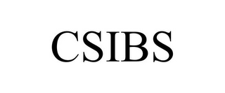 mark for CSIBS, trademark #78736389
