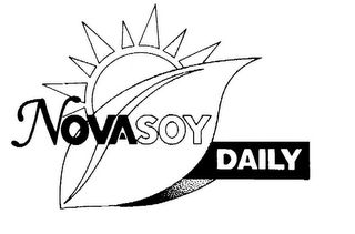 mark for NOVASOY DAILY, trademark #78736393