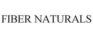 mark for FIBER NATURALS, trademark #78736549