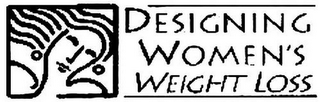 mark for DESIGNING WOMEN'S WEIGHT LOSS, trademark #78737185