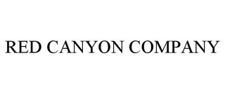 mark for RED CANYON COMPANY, trademark #78737259