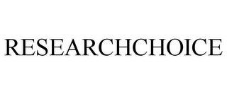 mark for RESEARCHCHOICE, trademark #78737592
