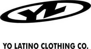 mark for YL YO LATINO CLOTHING CO., trademark #78737807