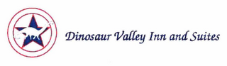 mark for DINOSAUR VALLEY INN AND SUITES, trademark #78737904