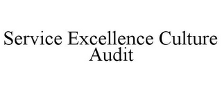 mark for SERVICE EXCELLENCE CULTURE AUDIT, trademark #78738125