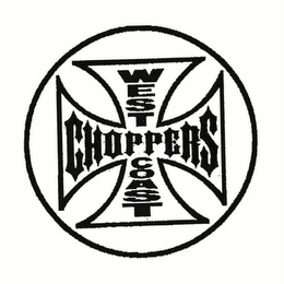 mark for WEST COAST CHOPPERS, trademark #78738729