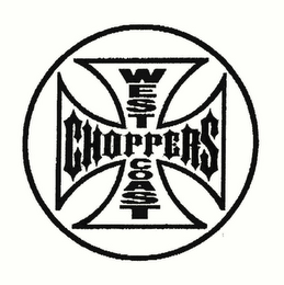 mark for WEST COAST CHOPPERS, trademark #78738736