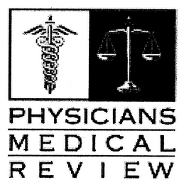 mark for PHYSICIANS MEDICAL REVIEW, trademark #78740637