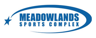 mark for MEADOWLANDS SPORTS COMPLEX, trademark #78741412