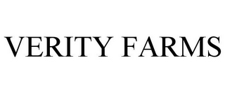 mark for VERITY FARMS, trademark #78741417