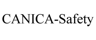mark for CANICA-SAFETY, trademark #78741475