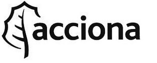 mark for ACCIONA, trademark #78741905