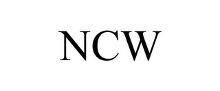 mark for NCW, trademark #78742370