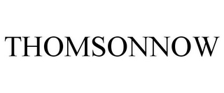 mark for THOMSONNOW, trademark #78742487