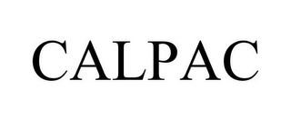 mark for CALPAC, trademark #78742967