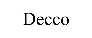 mark for DECCO, trademark #78743125