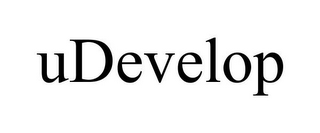mark for UDEVELOP, trademark #78743676