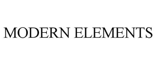 mark for MODERN ELEMENTS, trademark #78743870