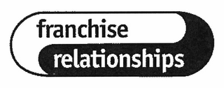 mark for FRANCHISE RELATIONSHIPS, trademark #78745220