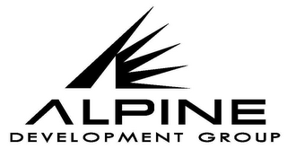 mark for A ALPINE DEVELOPMENT GROUP, trademark #78745280