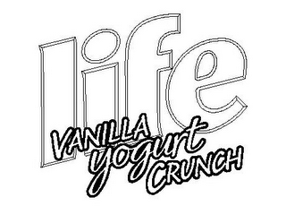 mark for LIFE VANILLA YOGURT CRUNCH, trademark #78745659