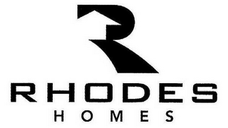 mark for R RHODES HOMES, trademark #78745709
