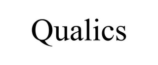 mark for QUALICS, trademark #78745990