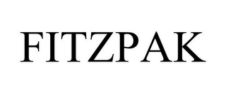 mark for FITZPAK, trademark #78747158