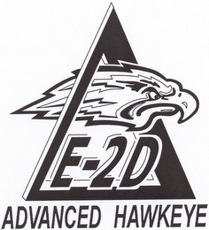 mark for E-2D ADVANCED HAWKEYE, trademark #78747568