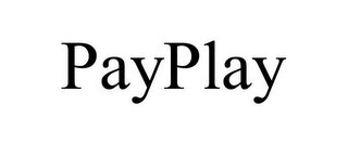 mark for PAYPLAY, trademark #78747872
