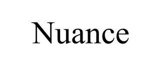 mark for NUANCE, trademark #78747881