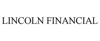 mark for LINCOLN FINANCIAL, trademark #78748556