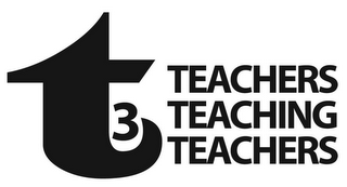 mark for T3 TEACHERS TEACHING TEACHERS, trademark #78749054