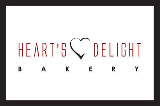 mark for HEART'S DELIGHT BAKERY, trademark #78749765